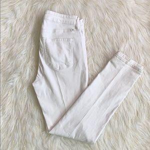 Lucky Brand Hayden white  Skinny jeans
